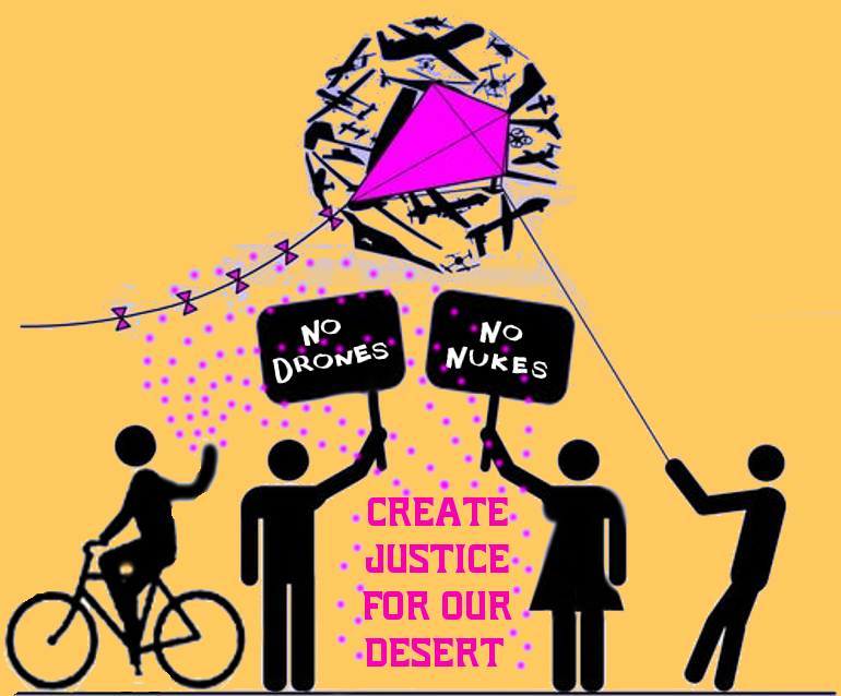 Create Environmental Justice in the desert TODAY