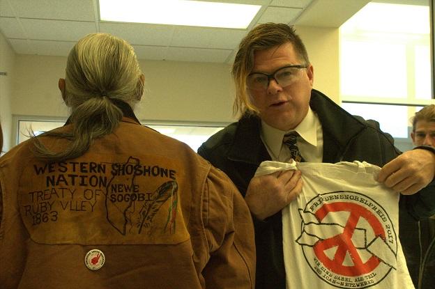 Johnnie Bobb has a nice jacket